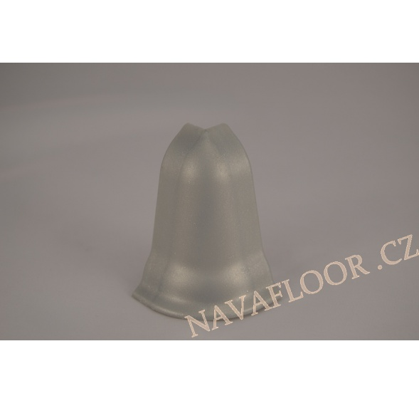 Roh (venkovní) k soklové liště SLK 50 W436 Alumetalic