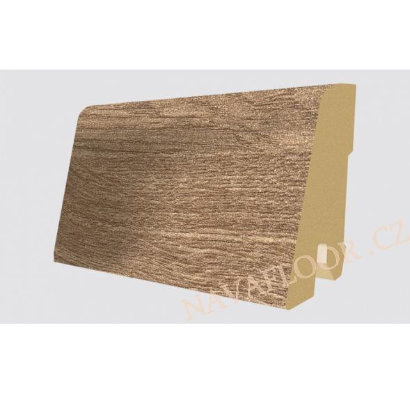 Soklová lišta Egger Classic 32 EPL081 Dub Nord hnědý (17x60x2400 mm )