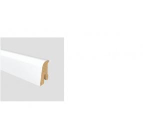 Soklová lišta NEUBURGER 40 MDF Bílá délka 2,5m / cena za bm