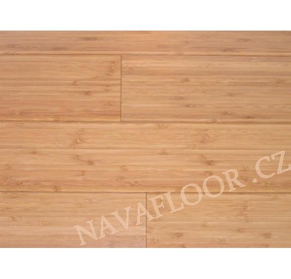 Bambusová masivní podlaha Vertikál káva - Affinis