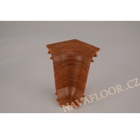 Kout (vnitřní) k soklové liště SLK 50 W174 Doussie