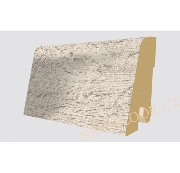 Soklová lišta Egger Kingsize 32 EPL033 Dub Verdon bílý (17x60x2400 mm )