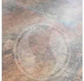 Click Elit Rigid WIDE Rusty Metal Plate 86548