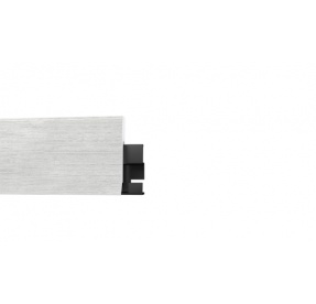 Soklová lišta DESIGN  20 x 58 x 2400 mm BÍLÁ