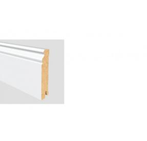 ALTBERLINER PROFIL 90 MDF Bílá délka 2,5m / cena za bm Soklová lišta