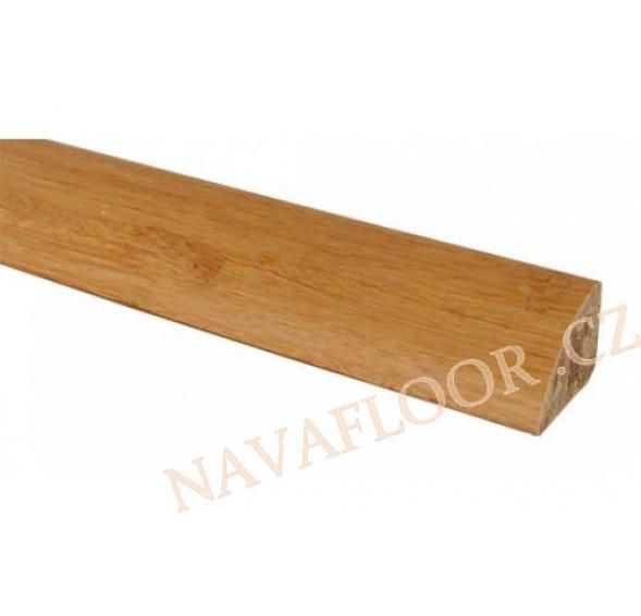 Soklová lišta bambus BS - 01 přírodní