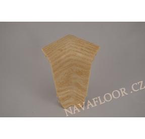 Kout (vnitřní) k soklové liště SLK 50  W469 Jasan sibiřský
