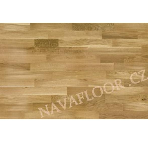 Dřevěná třívrstvá podlaha Barlinek Dub parketa 3 - lamela doprodej 10 balení