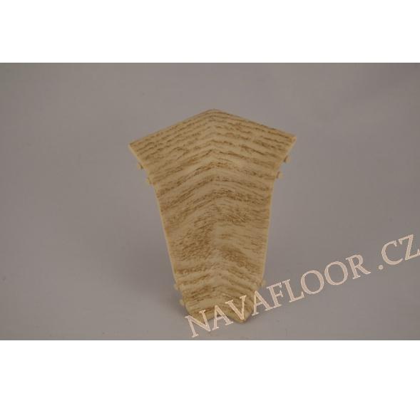 Kout (vnitřní) k soklové liště SLK 50 W461 Dub shiro