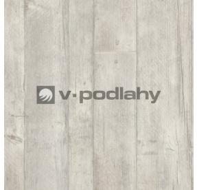 PVC V-Line 1921 Fabric White