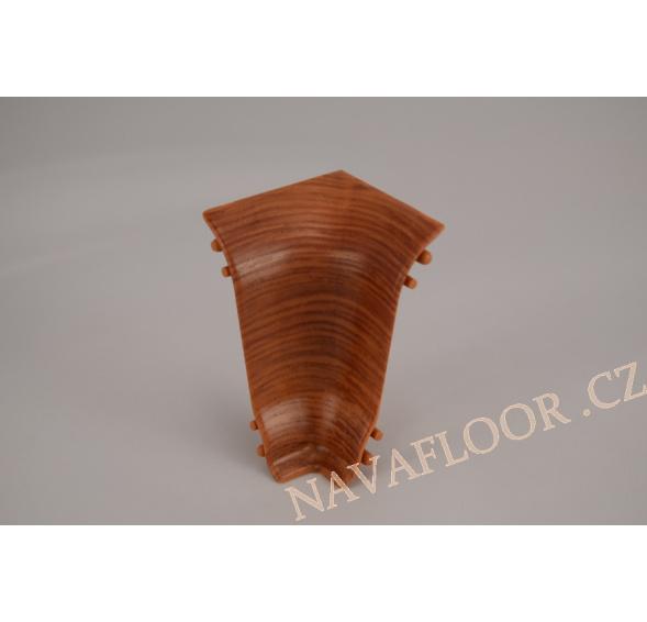 Kout (vnitřní) k soklové liště SLK 50 W279 Dub tmavohnědý