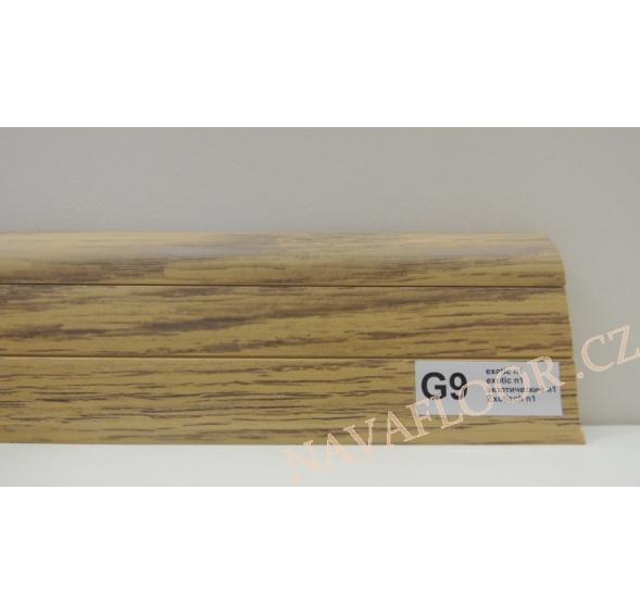 Plastová lišta PREXA 54 G9 exotic