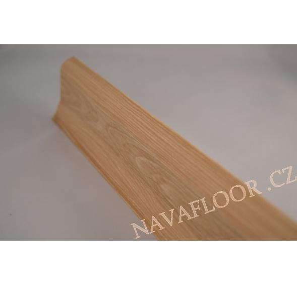 Plastová soklová lišta SLK 50 W212 Dub rustikální délka 2,5m / cena za bm