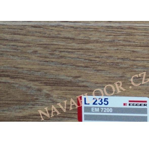 Soklová lišta Egger L 235 (15x60x2400 mm )