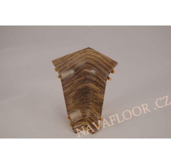 Kout (vnitřní) k soklové liště SLK 50 W460 Dub kardamon