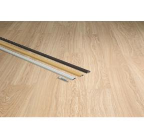 Quick-Step profil Incizo AL Stříbrný 11x47x2700mm
