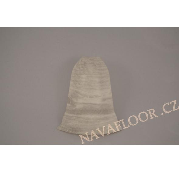 Roh (venkovní) k soklové liště SLK 50 W648 Dub bílý