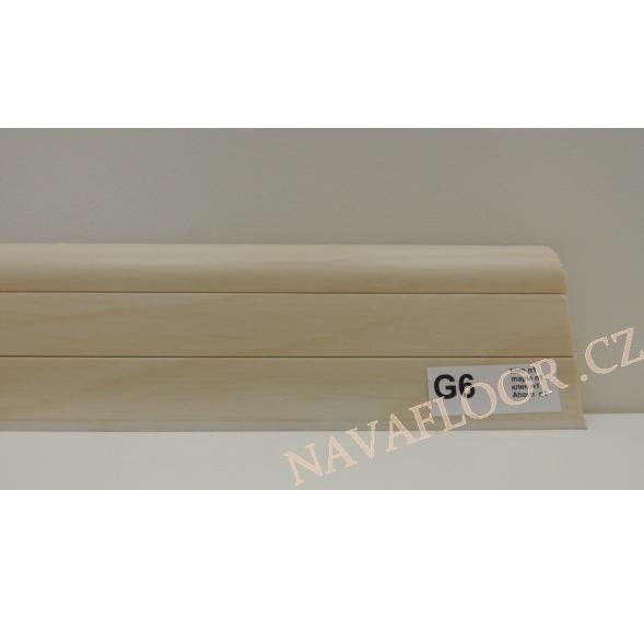 Plastová lišta PREXA 54 G6 javor