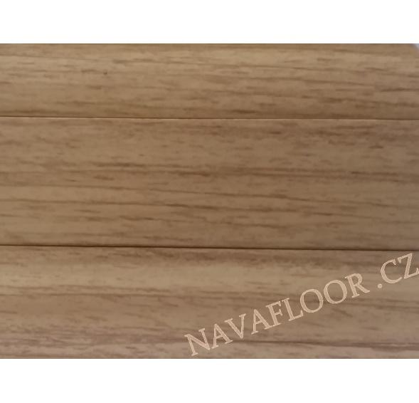 Plastová soklová lišta Döllken SLK 50 W180 Dub zlatý délka 2,5m / cena za bm