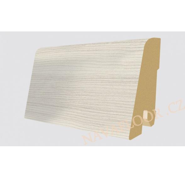 Soklová lišta Egger Classic 32 EPL028 Borovice Inverey bílá (17x60x2400 mm )