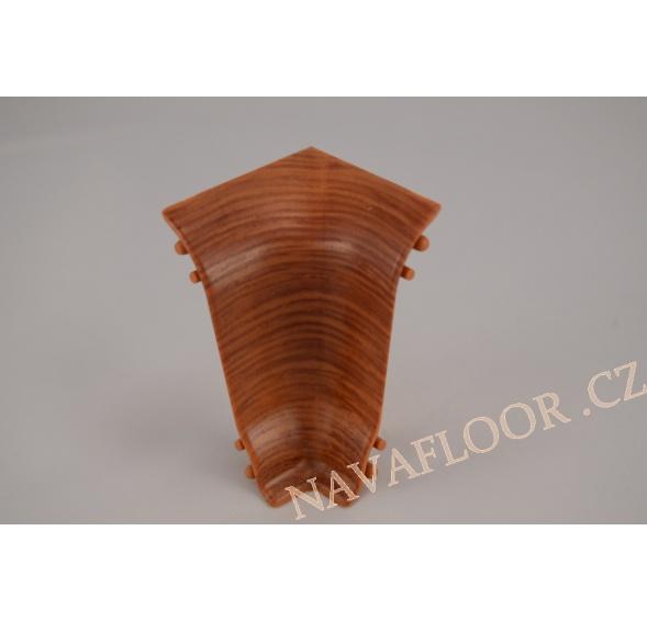 Kout (vnitřní) k soklové liště SLK 50 W167 Merbau