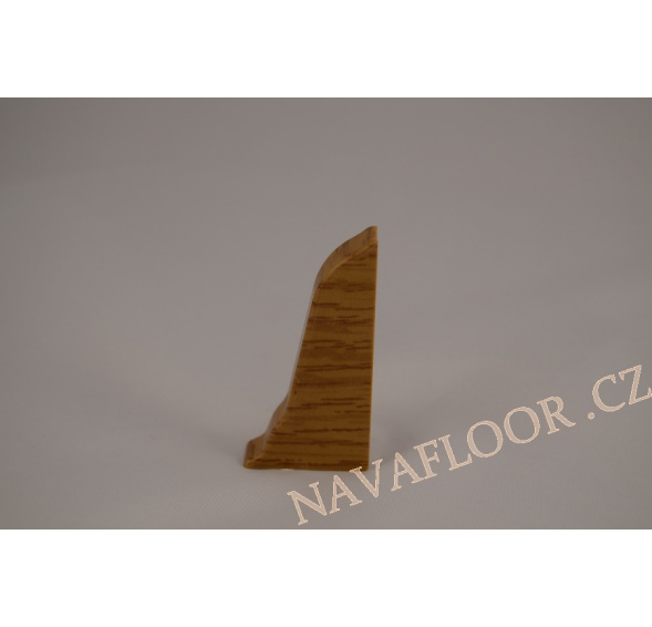 Koncovka pravá k soklové liště SLK 50 W130 Dub kanadský