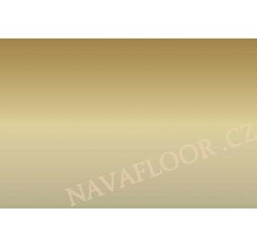 Přechod 30 mm kovový samolepící - Šampaň E02, délka 270cm
