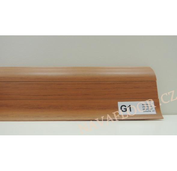 Plastová lišta PREXA 54 G1 Višeň