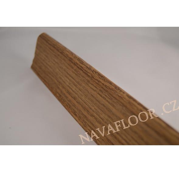 Plastová soklová lišta Döllken SLK 50 W216 Dub maranello délka 2,5m / cena za bm