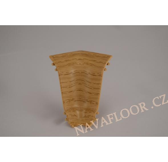 Kout (vnitřní) k soklové liště SLK 50 W129 Dub přírodní