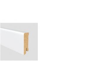 Soklová lišta Modern 80 16x80 MDF Bílá délka 2,5m / cena za bm