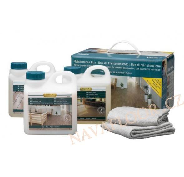 WOCA Pečující box na lakované podlahy s pečujícím balzámem