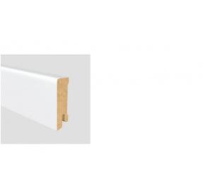 Soklová lišta Modern 40 16x40 MDF Bílá délka 2,5m cena za bm