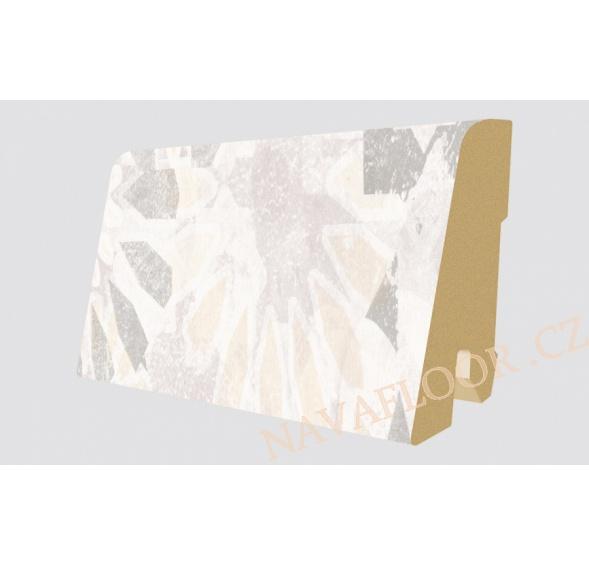 Soklová lišta Egger Classic 32 EPL008 Kámen Tarragone (17x60x2400 mm )