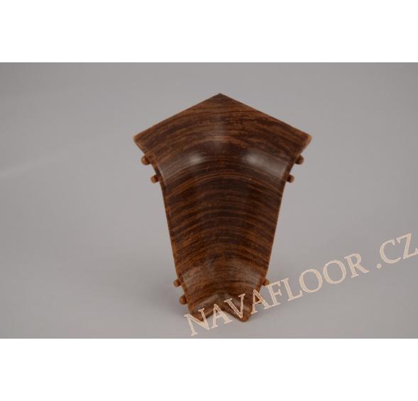 Kout (vnitřní) k soklové liště SLK 50 W176 Dub zámecký