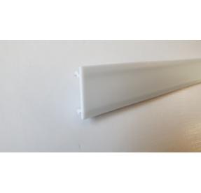 Světelný difuzér (střed) k soklové liště SLK 50 délka 2,5m W263