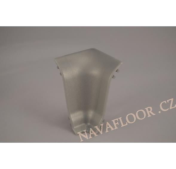 Kout (vnitřní) k soklové liště SLK 50 W436 Alumetalic