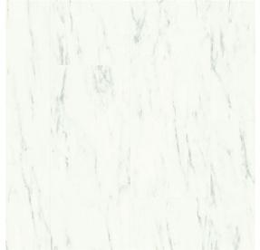 Quick-Step Ambiente CLICK V4 AMCL40136 Mramorová dlažba bílá