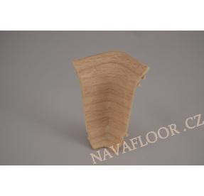 Kout (vnitřní) k soklové liště SLK 50 W131 Jasan kristal