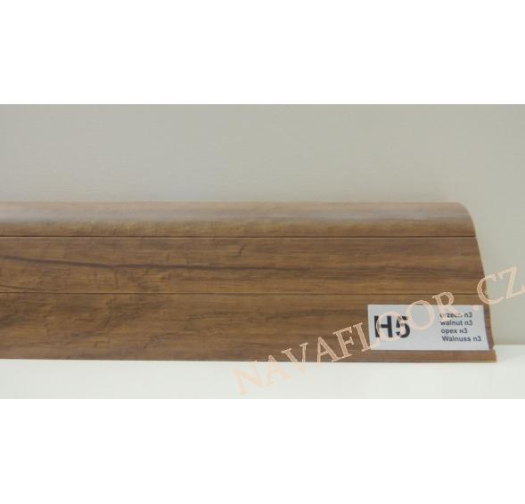 Plastová lišta PREXA 54 H5 ořech