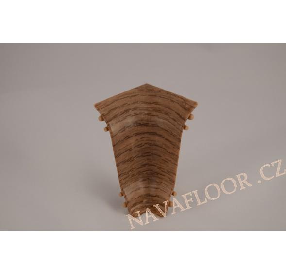Kout (vnitřní) k soklové liště SLK 50 W216 Dub maranello