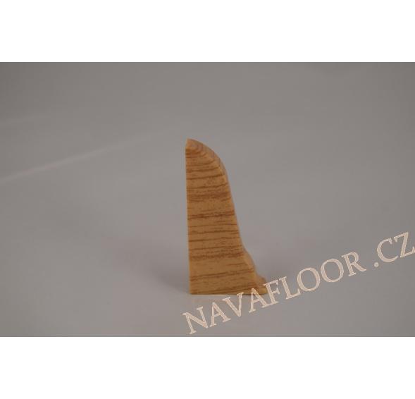 Koncovka levá k soklové liště SLK 50 W180 Dub zlatý