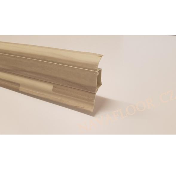 Plastová soklová lišta SLK 50 Döllken W173 délka 2,5m / cena za bm