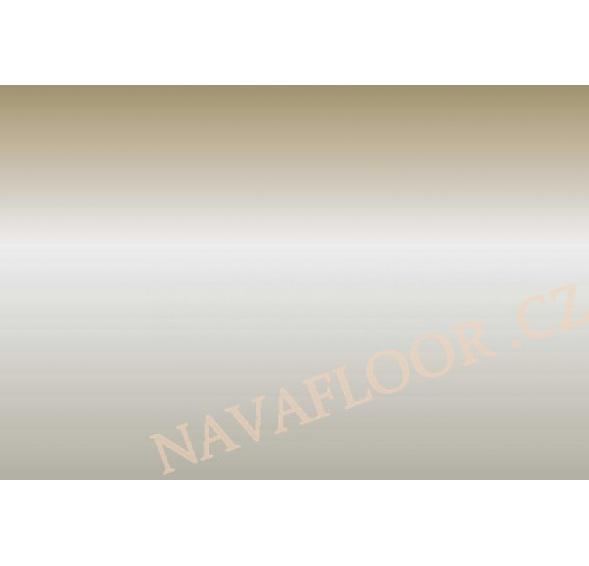 Přechod 30 mm kovový samolepící - Inox E07, délka 270 cm