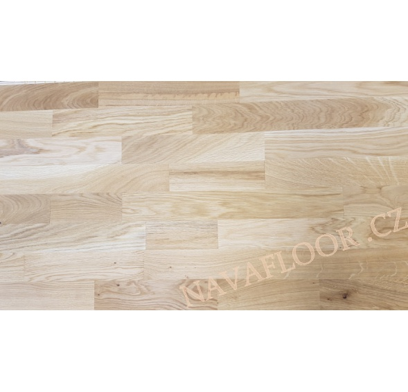 Dřevěná podlaha Dub Rustic OLEJ kartáč 3-lamela