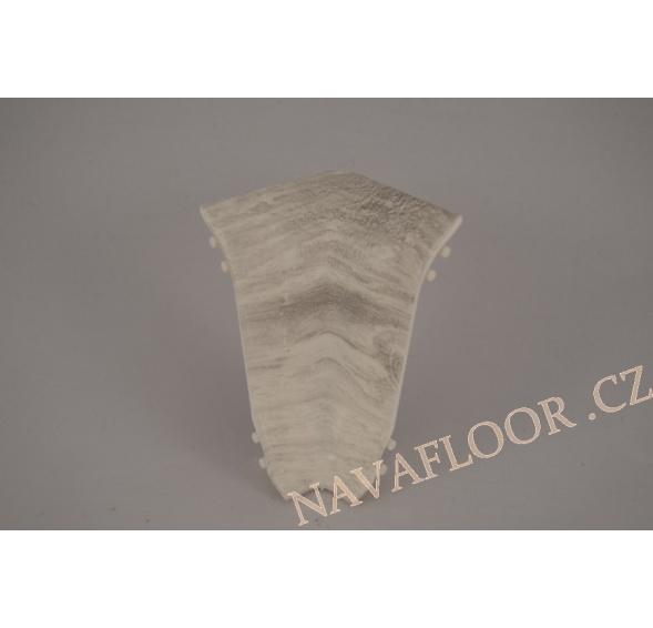 Kout (vnitřní) k soklové liště SLK 50 W648 Dub bílý